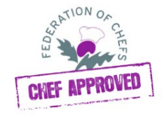chef approved logo